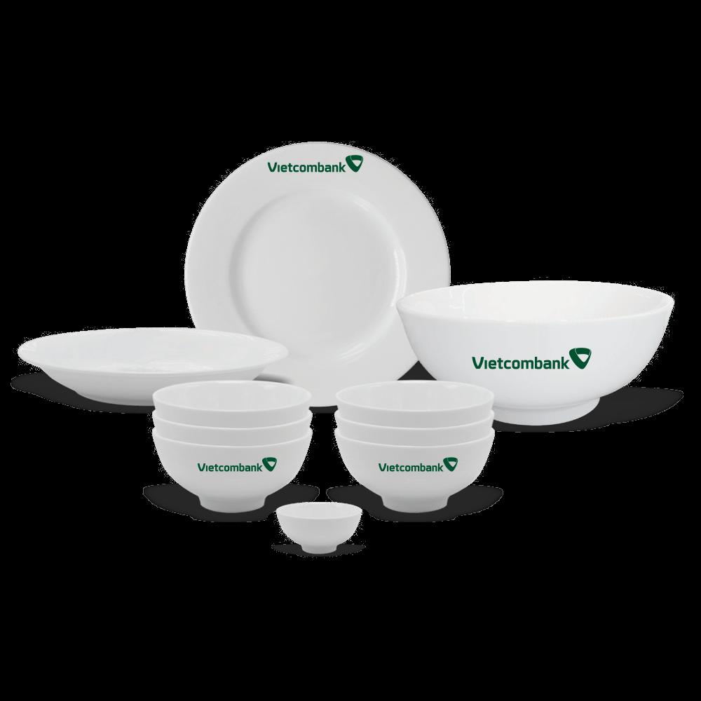 Bộ bàn ăn in logo - món quà Tết ý nghĩa cho khách hàng