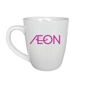 Ly sứ in logo AEON