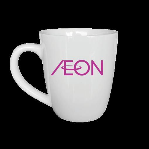 Ly sứ in logo AEON