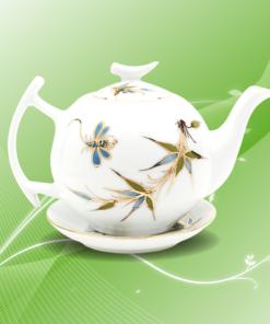 ấm trà thanh trúc