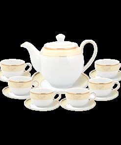 Bộ trà hoàng kim