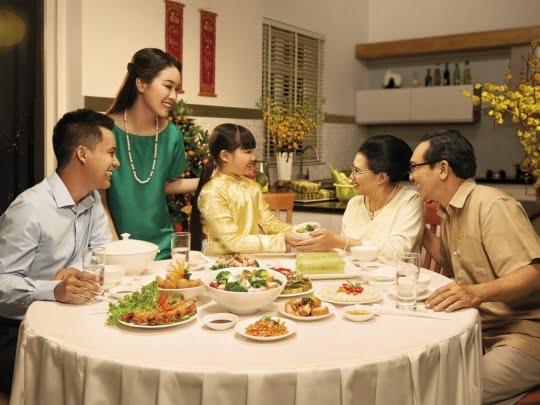 Gốm sứ được ưu tiên sử dụng trong bữa cơm gia đình