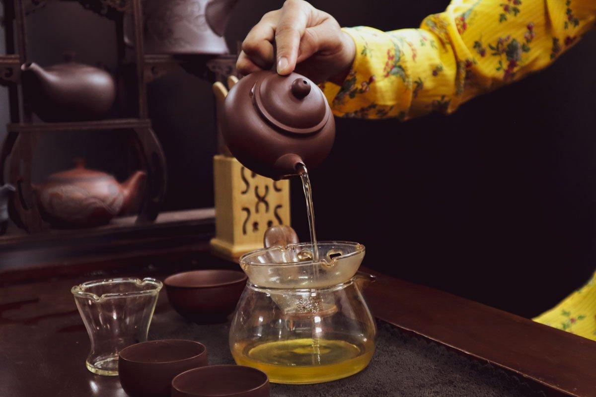 Uống trà thay rượu- tại sao không?