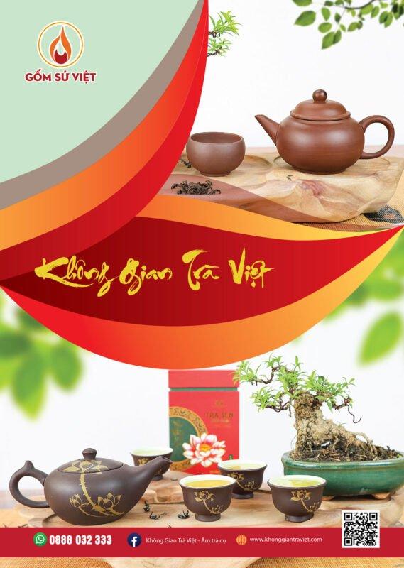 Tròn đủ ấm trà Việt