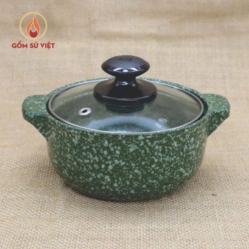 Nồi đất ăn lẩu vân đá thương hiệu Gốm Sứ Việt hiện đang được rất nhiều chị em tìm mua
